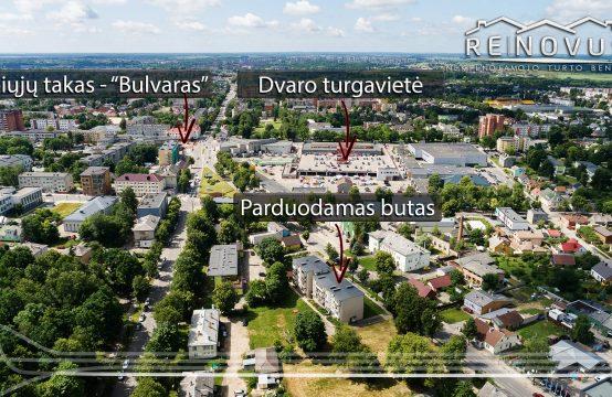 1 kambario butas su rūsiu ir balkonu J. Basanavičiaus g. 18 A, Šiauliai.