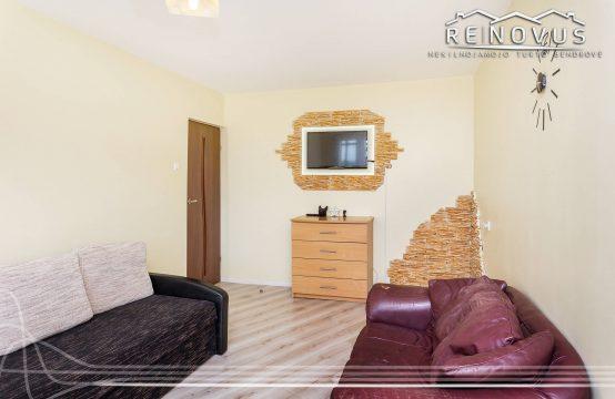 Parduodamas 2 kambarių butas su balkonu ir rūsiu Lyros g., Šiauliai.